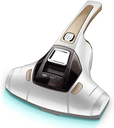 ASDASD Aspiradora Ultravioleta Anti-ácaros del Polvo aspiradora Potente y Filtro HEPA Limpieza eficiente de los ácaros en colchones sofá y alfombras-Dorado (Color: Dorado)-Dorado