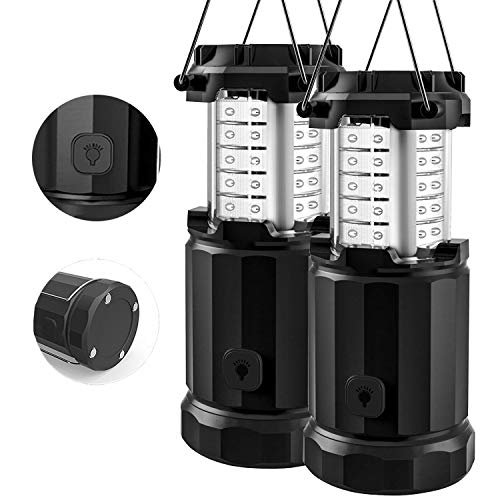 Etekcity Camping Lantern Battery Powered Led Lights with AA Batteries,...