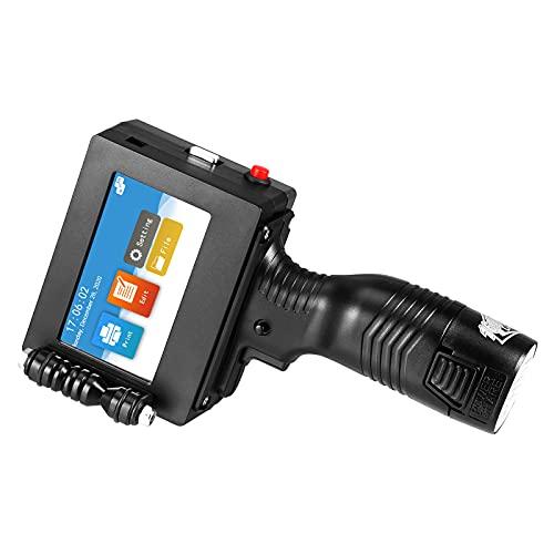 Stampante portatile a getto d'inchiostro, codificatore online per etichette, display touch screen da 4,3 pollici, 600 DPI, risoluzione HD, supporto per cartucce ad asciugatura rapida e U-Disk