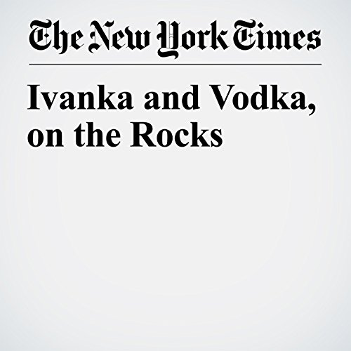 Ivanka and Vodka, on the Rocks copertina