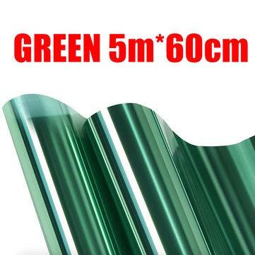 ExcLent Einwegspiegel Fenstertönungsfolie Blickschutz Reflexionstönung 1M / 2M / 3M / 5M X 60Cm - I