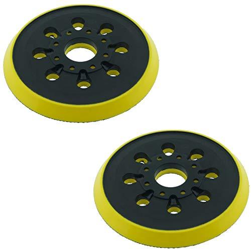 SabreCut OSSCSPB220MH_2 Exzenterschleifer, 125 mm, 8 Löcher, für Bosch PEX220 Skil 7402 7490, 2 Stück