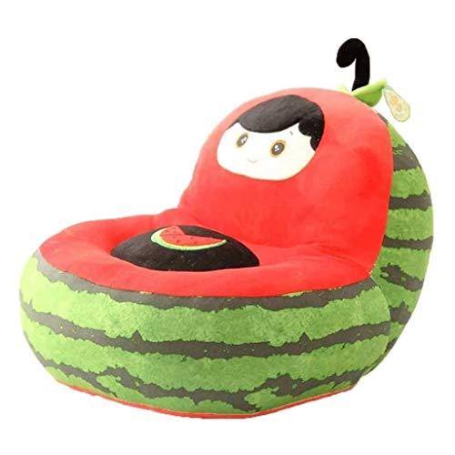 JJZXD Jolly Chily Sofá Sofá para niños Súper lindo peluche de peluche Bolsa de frijol Asiento de silla para niños Lindo peluche sofá sofá asiento dibujos animados tatami sillas cumpleaños regalos para