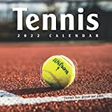 Tennis Calendar 2022: Fantastic Gift For Any Occasion With 12-month Calendar 8.5x8.5 Inches, Large Monthly Grid Space for Planning And Organizing