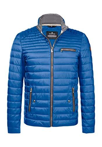 MILESTONE Norwick - Leichte Herren Stepp-Jacke mit Stehkragen (52, Blau)