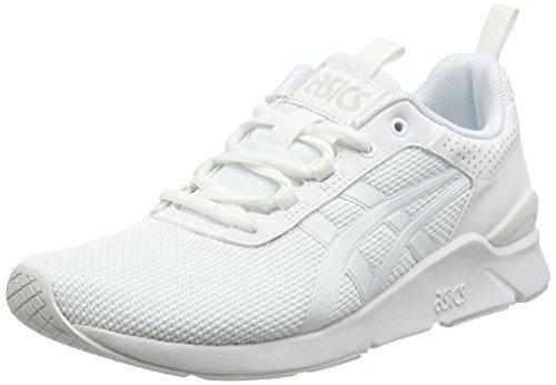 Asics GEL-Lyte Runner, Unisex-Erwachsene Sneaker, Weiß (white/white), 42.5 EU (8 UK)