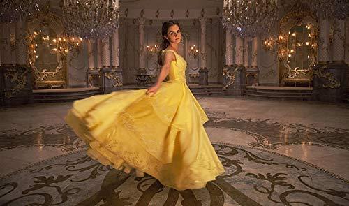 Póster de Emma Watson de Beauty And The Beast Best Movies de Emma Watson (30,5 x 45,7 cm), multicolor