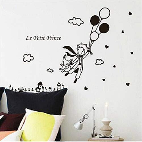 Kleiner Prinz und Fuchs Wandsticker Home Decoration 98x110cm