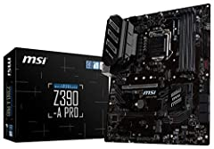 Supports 9th i9-9900K, i7-9700K, i5-9600K and 8th Generation Intel Core / Pentium Gold / Celeron processors for LGA 1151 socket Supports dual channel ddr4 memory, up to 4400(oc) MHz Turbo M.2: PCI-E gen3 x4 interfACe maximizes performance for NVME SS...