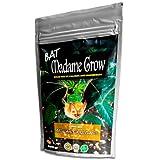 BAT MADAME GROW - Guano de Murciélago para Crecimiento y Floración - Fertilizante Orgánico en Polvo - Mezcla solidificada rica en Calcio y Magnesio (500 gramos)
