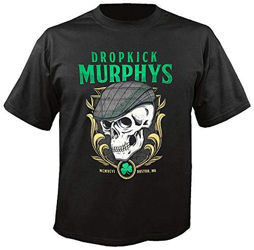 Dropkick Murphys - Skelly Skull - T-Shirt Größe L
