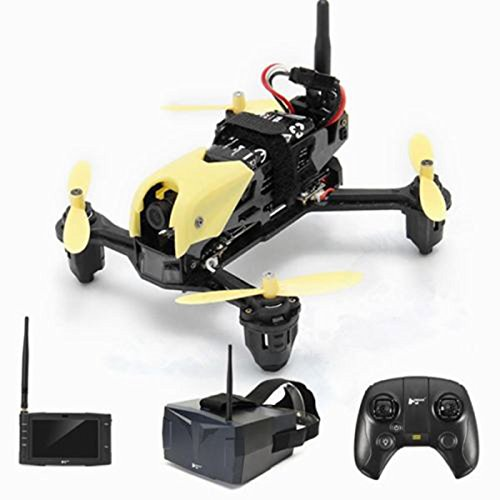 Hubsan H122D X4 Storm Professional 5.8G FPV Racing Drone 720P Camera RC Quadcopter with LCD Video Monitor and HV002 Goggles