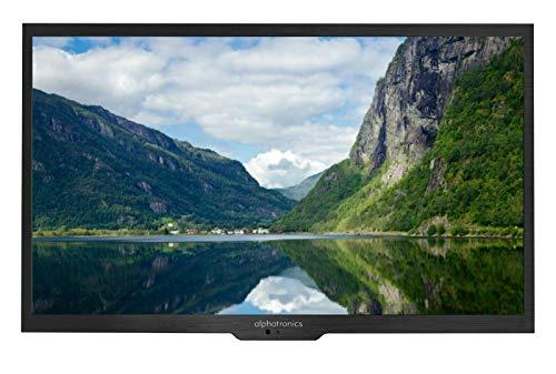 Alphatronics SL-22 SB+ CR Carthago Edition 55cm Fernsehen Full-HD, Triple Tuner DVB-S2/C/T2 Tuner für 12/230V Betrieb, WOMO
