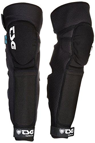 TSG Erwachsene Knee-Shinguard Temper A 2.0 Schienbeinschoner, Black, XL