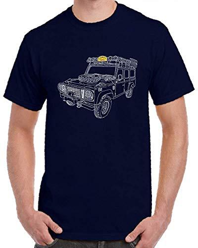 Retro Adventure Camel Trophy Land Graphic Art DESİGN T Shirt