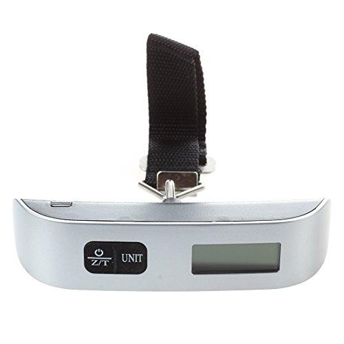 SODIAL(R) Kofferwaage Handwaage Haengewaage Feinwaage digital Thermometer 50kg/50g