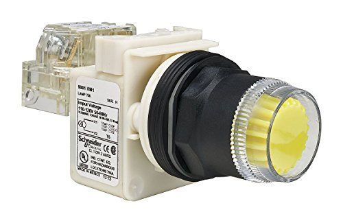 Push to Test Pilot Light Green 9001KT35LG LED Telemecanique // Schneider Electric