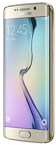 Samsung Galaxy S6 Edge Smartphone (5,1 Zoll (12,9 cm) Touch-Display, 128 GB Speicher, Android 5.0) gold