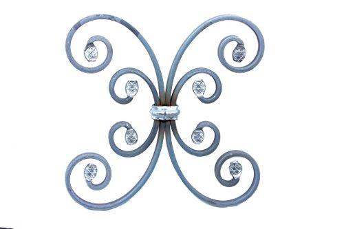 UHRIG ® Schmiedeeisen Ornament für z.B. Geländer, Fenstergitter usw. aus Stahl Eisen geschmiedet #581