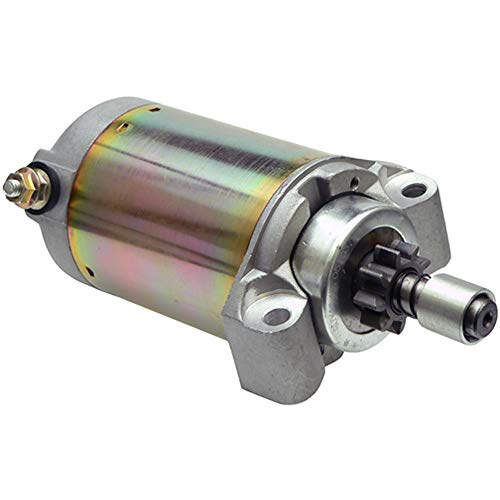 Starter Compatible With/Replacement For John Deere GX75 RX75 SRX75 SX75 130 /Kawasaki Various Models/Toro 222-5 Tractor /AM102628 /21163-2068/128000-2760 - DB Electrical 410-52068