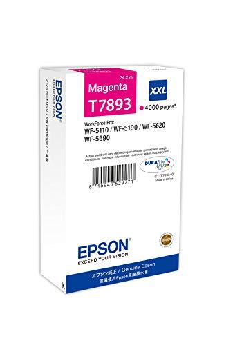Epson C13T789340 Cartuccia, Magenta, con Amazon Dash Replenishment Ready