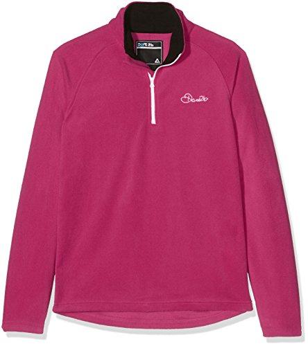 Dare 2B Jam II - Haut polaire à col zippé couleur Rose électrique - Enfant unisexe - Taille: 34 inch (176 EU/Hauteur: 163cm)
