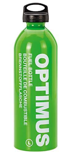 Optimus Brennstoffflasche Kindersicherung Brenstoffbehälter, Grün, 1.0 Liter