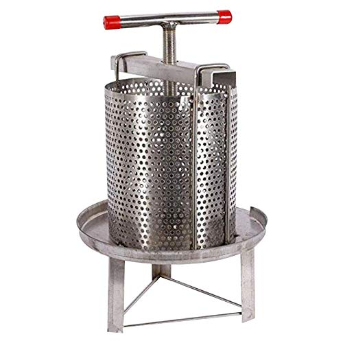 PreAsion Mesh Honey Press Machine Honey Extractor Beekeeping Stainless Steel Household Manual Honey Press