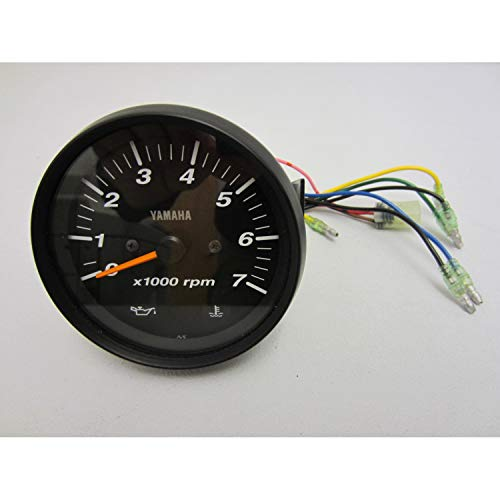 Yamaha 6Y7-83540-60-00 Pro Series II Tach Blk; New # 6Y7-83540-80-00 Made by Yamaha