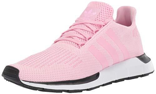 adidas Originals Women's Swift Running Shoe, True Pink/True Pink/White, 5 M US