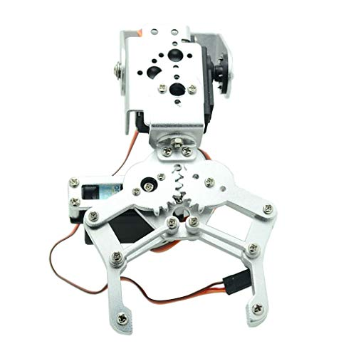 Shiwaki Metall 2DOF Roboter Mechanischer Arm Greifer Kit Mit High Servo Für Arduino