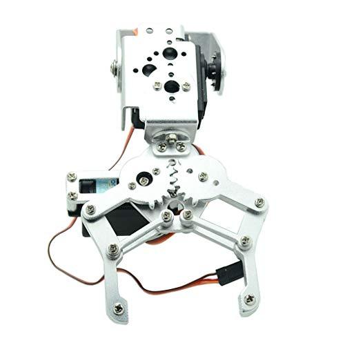 SDENSHI Vollmetall 2 DOF Roboter Mechanischer Arm Greifer Kit MG 996R Servo Für