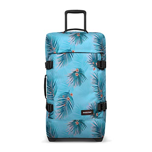 Eastpak Tranverz M Suitcase, 67 cm, 78 L, Brize Pool (Blue)