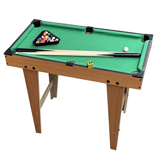 DJYD Pool Table Kids/Adults/Family Lightweight Portable Party Game Children's Pool Table, Parent-child Educational Toys, Mini Pool Table Folding Multi Gaming Table Billiards For Kids FDWFN
