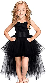 Handmade Girls Tutu Dresses Girls Tulle Dress for Birthday Party Photography Prop Special Occasion Black