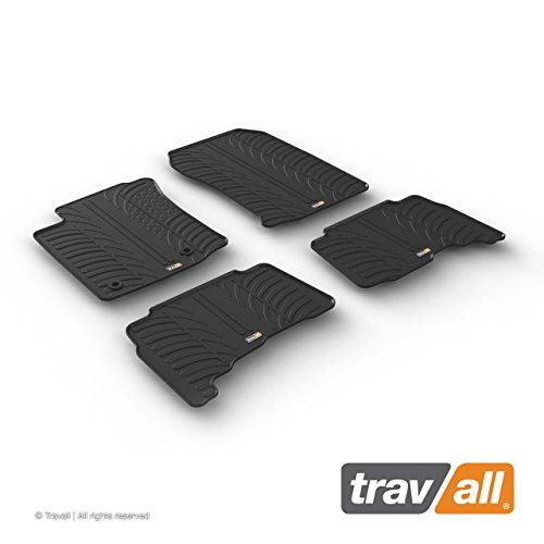 Travall Mats Tapis de Voiture Compatible avec Toyota Land Cruiser J150 (2012 et Ulterieur) TRM1264 - Tapis de Sol en Caoutchouc sur Measure