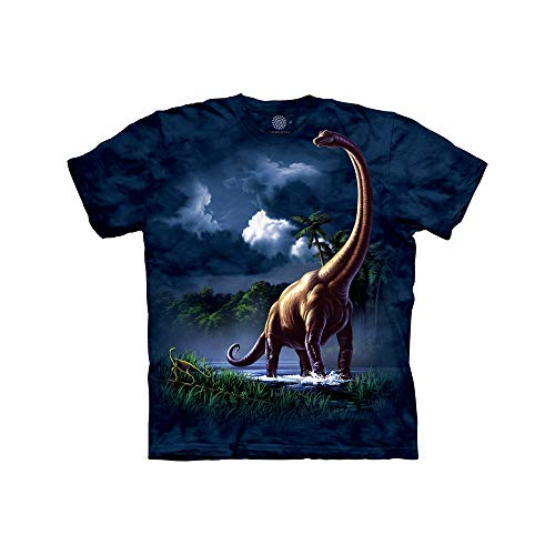 The Mountain Camiseta para niña Brachiosaurus Kids, Azul, XL