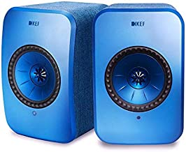 KEF LSX Wireless Music System (Blue, Pair)