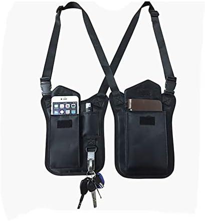 Mens shoulder holster wallet