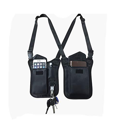 Versteckte Unterarm-Schultertasche, Anti-Diebstahl, versteckte Packtasche, Mehrzweck-Schulter-/Achseltasche, taktische Halfter-Tasche für Reisen im Freien, HGJ96