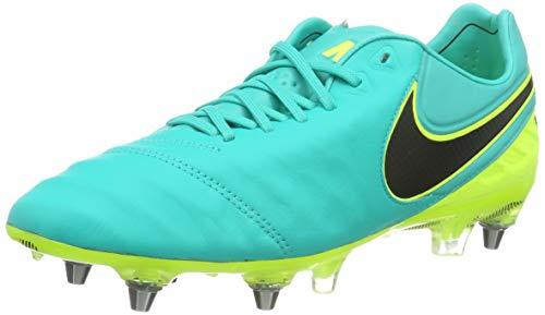 Nike Tiempo Legend VI SG-PRO, Scarpe da Calcio Uomo, Multicolore (Clear Jade/Black-Volt), 41 EU