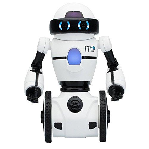 Wowwee Mip Robot Domestico Multimediale, Bianco/Nero