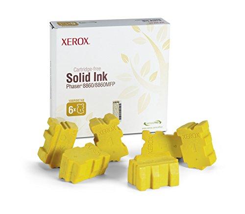 Xerox 108R00748 - Cartucho de tinta sólida, 6 barras, amarillo