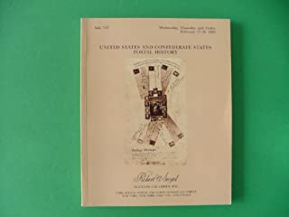 United States and Confederate States Postal History Postage Stamps Catalog. Sale 747