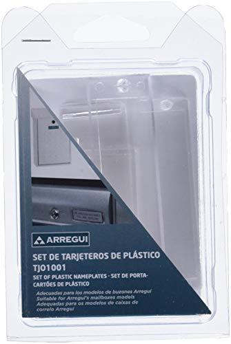Arregui TJO1001 - Kit tarjeteros plastico(5u)