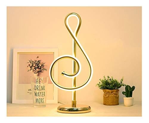 Lampe de table F Lampe de table de haute qualité Design minimaliste moderne Décoration personnelle Chambre à coucher chevet LED light (Couleur : B)