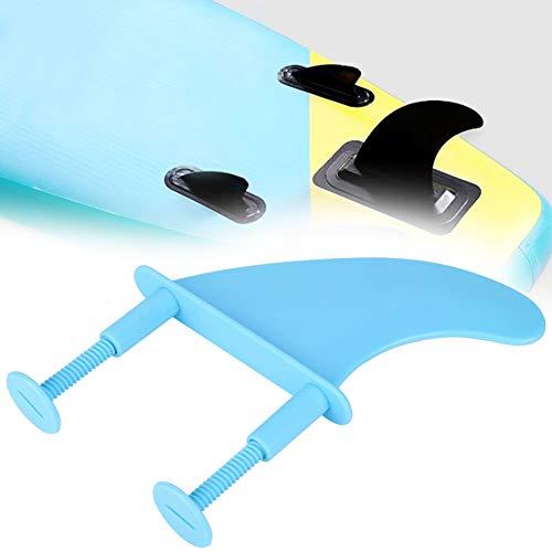 【2020 Promoción Final】Aletas de plástico Azul para Tablas de Surf, Aletas para Tablas de Surf, Aletas portátiles para Tablas de Surf, portátiles para los Amantes de Las Tablas de Surf para Uso en Exte