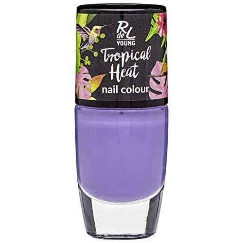 Rival de Loop Young Tropical Heat nail Colour Nr. 02 Cool Orchid Inhalt: 8ml Nagellack
