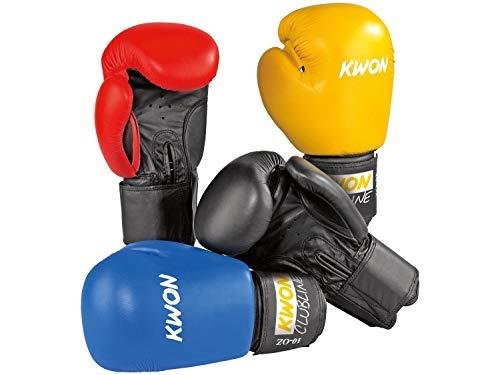 Kwon Boxhandschuhe POINTER 10 Oz in 4 Farben Farbe: Blau, Onze: 10 Oz