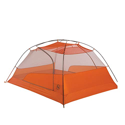 Big Agnes Copper Spur HV UL3 Backpacking Tent, Gray/Orange, 3 Person